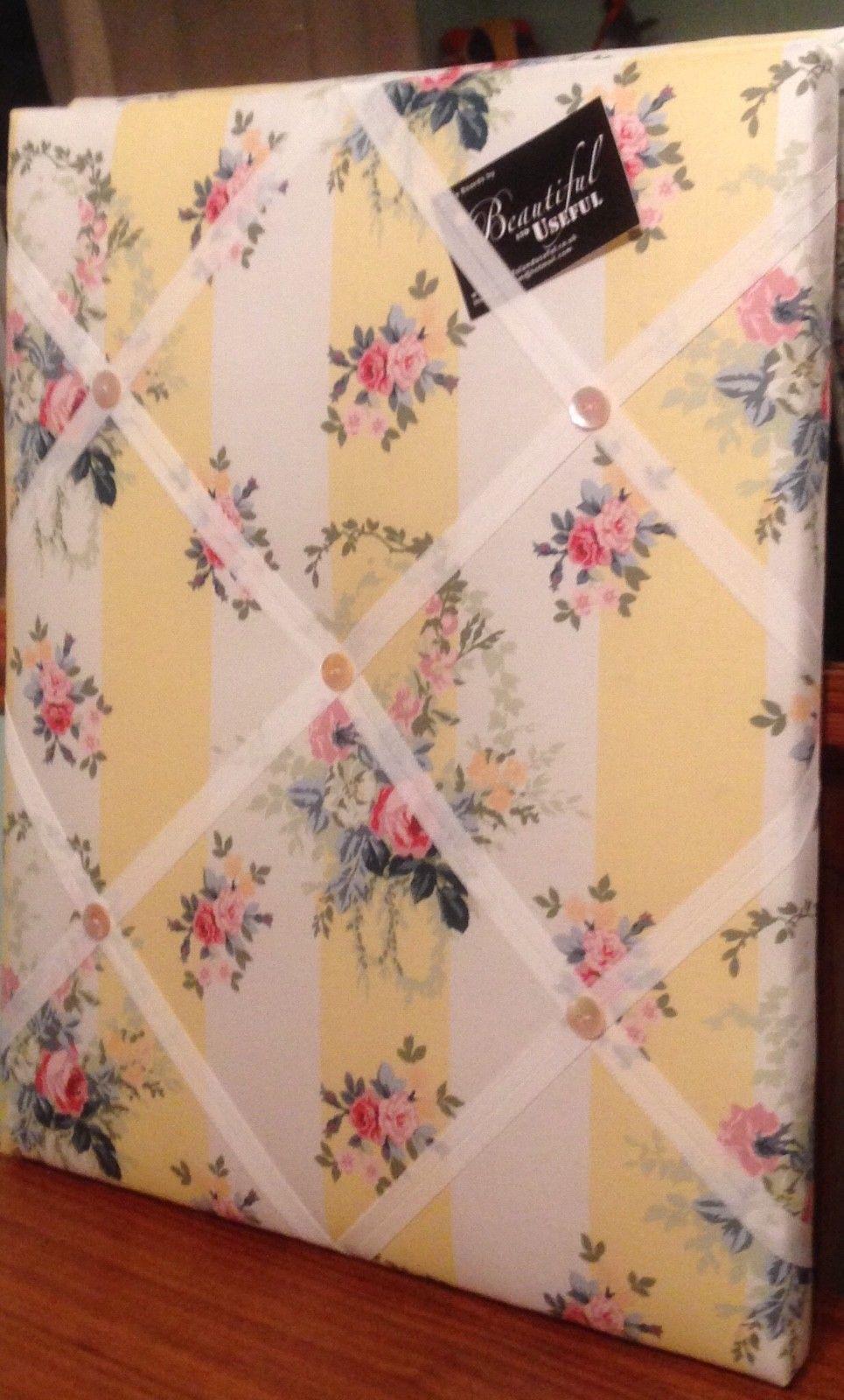 Image of Vintage Laura Ashley floral chintz Memo Board