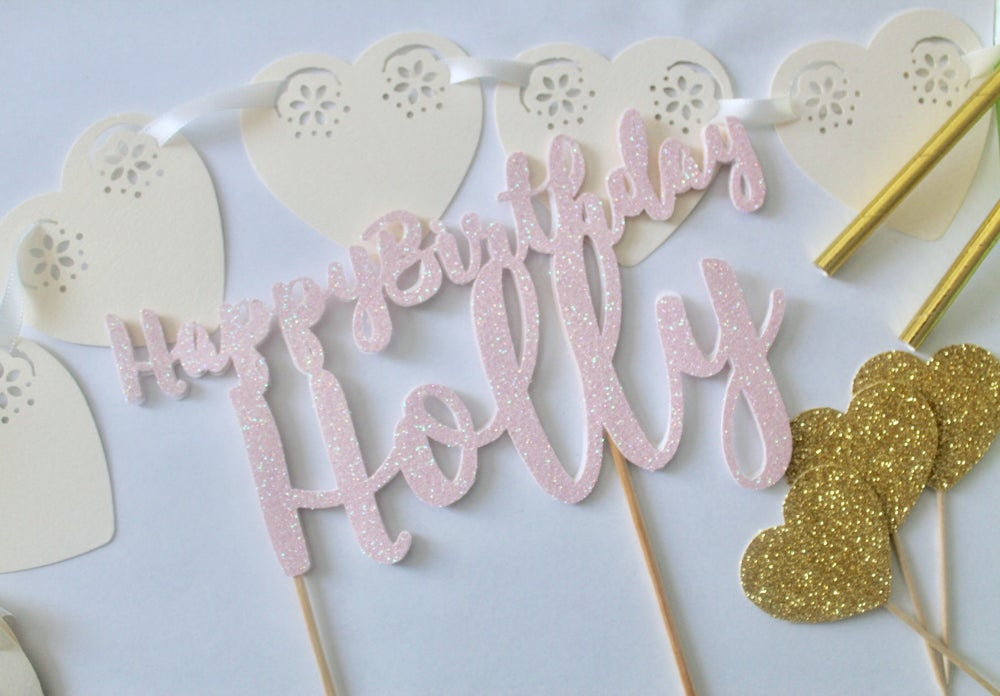 Image of Cake designer cake topper package