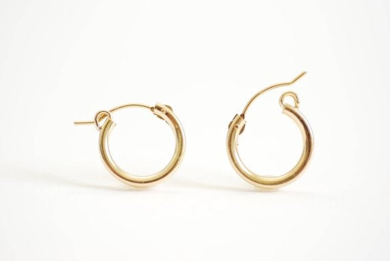 Image of Everyday hoop earrings