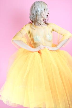 Image of Super thick midi dress