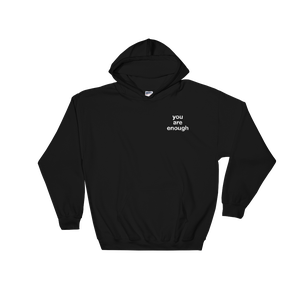 Image of You Are Enough Black Sweater