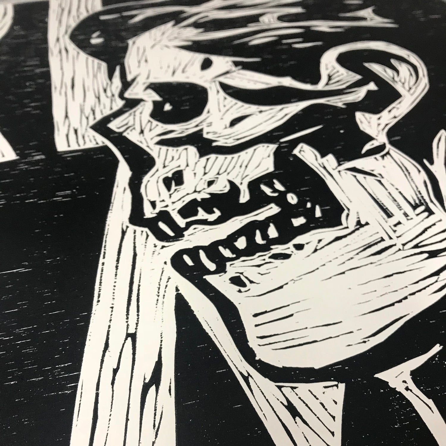 Image of Great Again - Relief Print