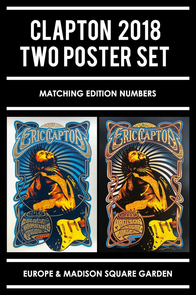 Image of Eric Clapton 2018 Poster Set