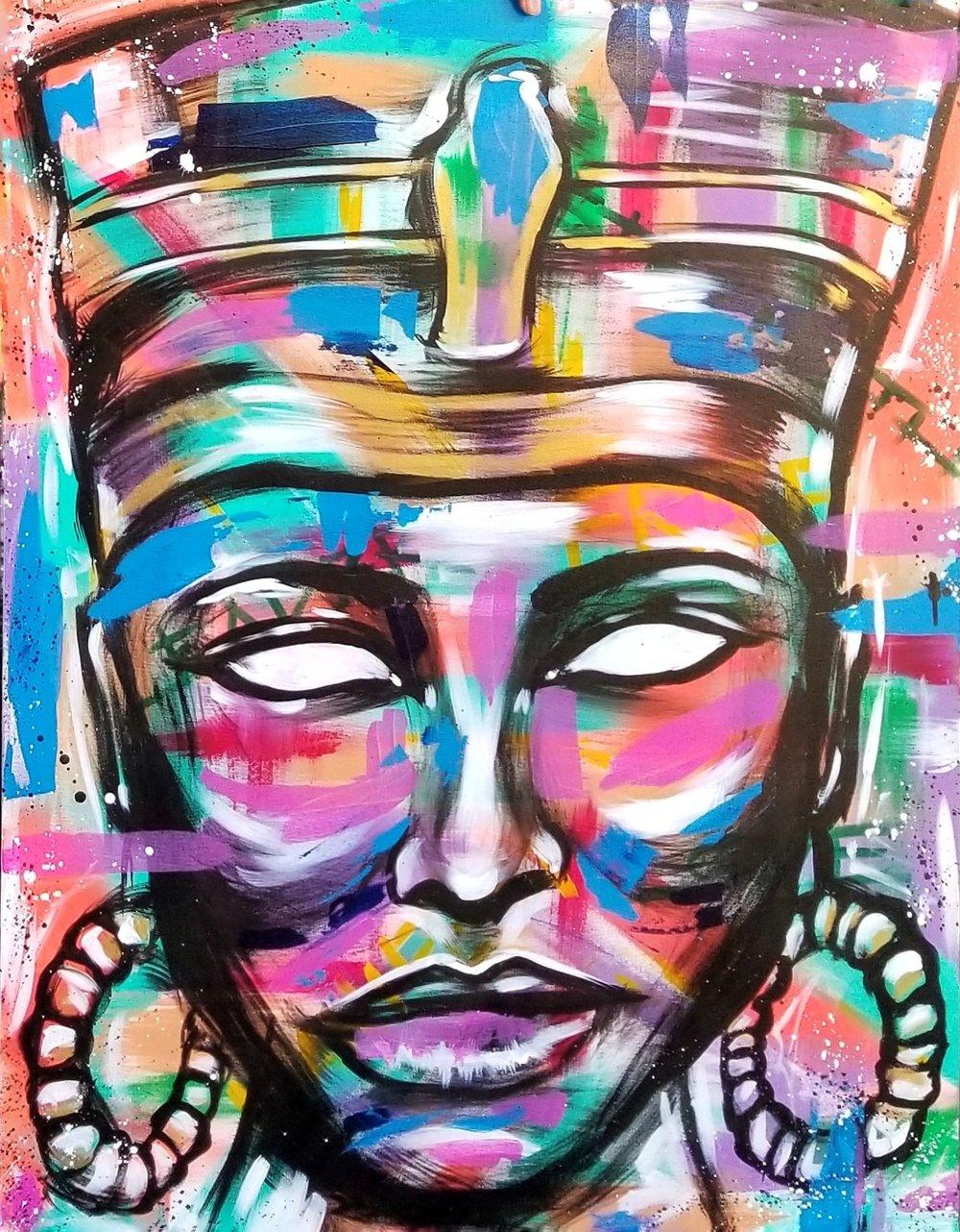 Image of Nefertiti - Canvas Print