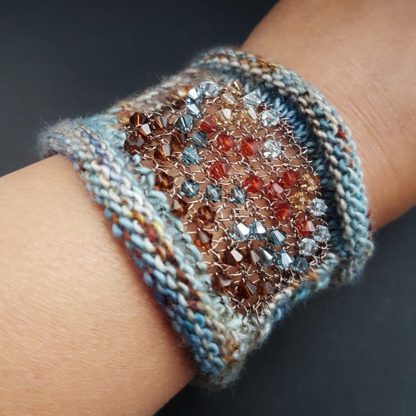 Image of WINDOW CUFF - Denim Roots