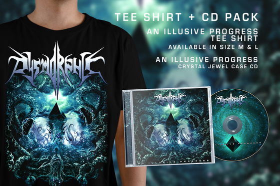 "Image of DYSMORPHIC - PACK ""ILLUSIVE"" - TEE SHIRT + CD"