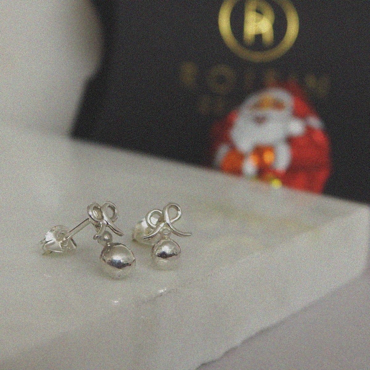 Image of PRE ORDER Festive Bauble Studs! INTRODUCTORY PRICE