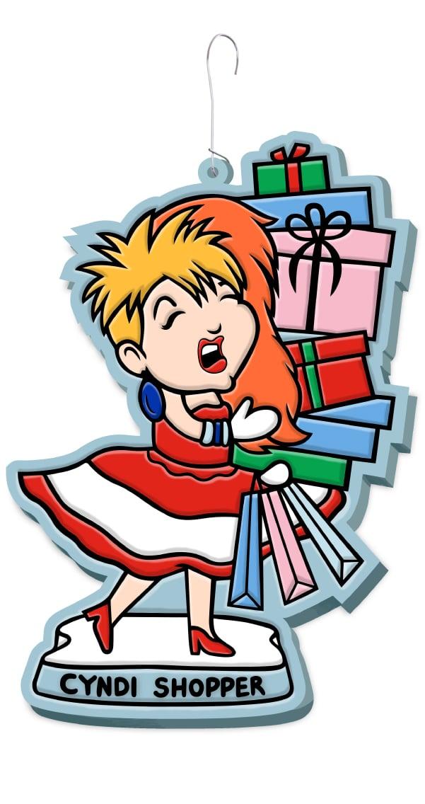 Cyndi Shopper Ornament