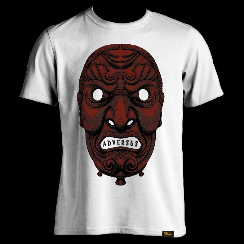 Image of ADVS t-shirt black/Red