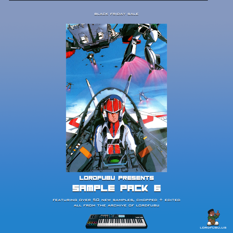 Image of LORDFUBU SAMPLE PACK: VOL. 6