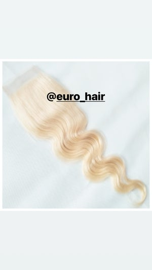 Image of BOMBSHELL BLONDE TOP-TO-BOTTOM PREMIUM EXTENSIONS BODY WAVE TEXTURE