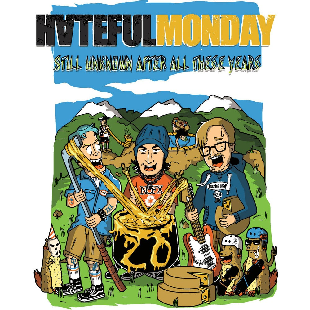 Image of Hateful Monday «Still Unknow After All These Years » Tape