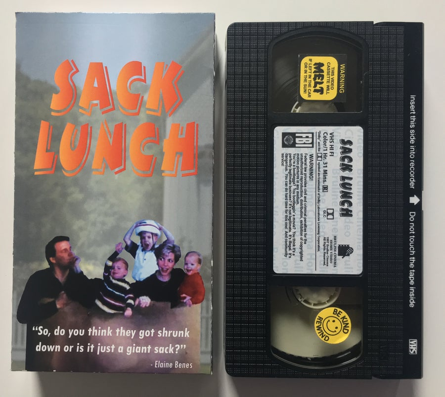 Image of Sack Lunch VHS