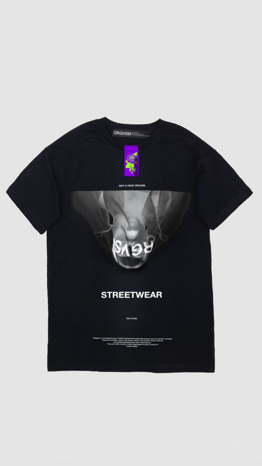 Image of STREETWEAR TEE concept ONE //OVERSIZE