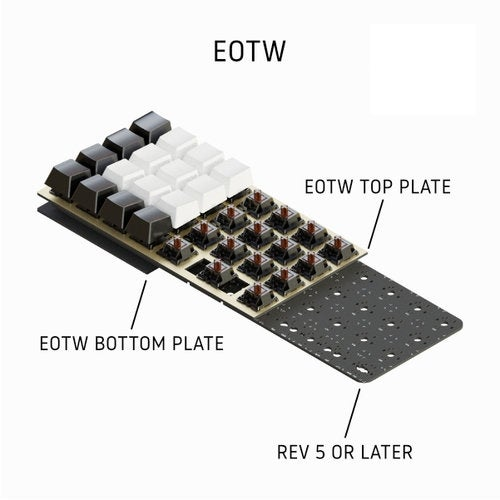 Image of Planck Rev 6.1 EOTW Mechanical Keyboard Kit
