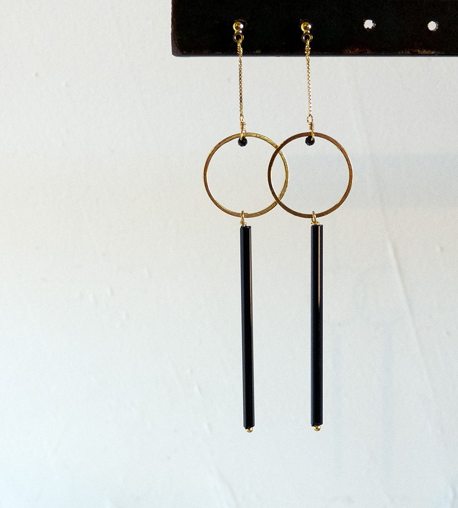 Image of Boucles Black Line Circles