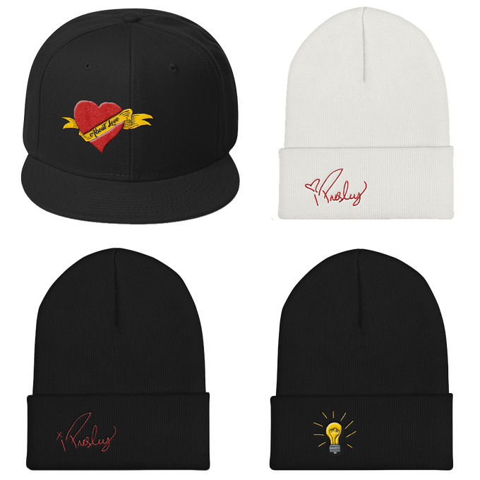 Image of Isaak Presley Headwear Collection