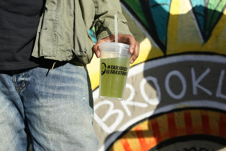 Image of Tax Juice Cup