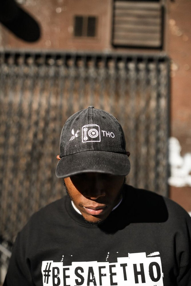 Image of Be Safe Tho Dad Hat