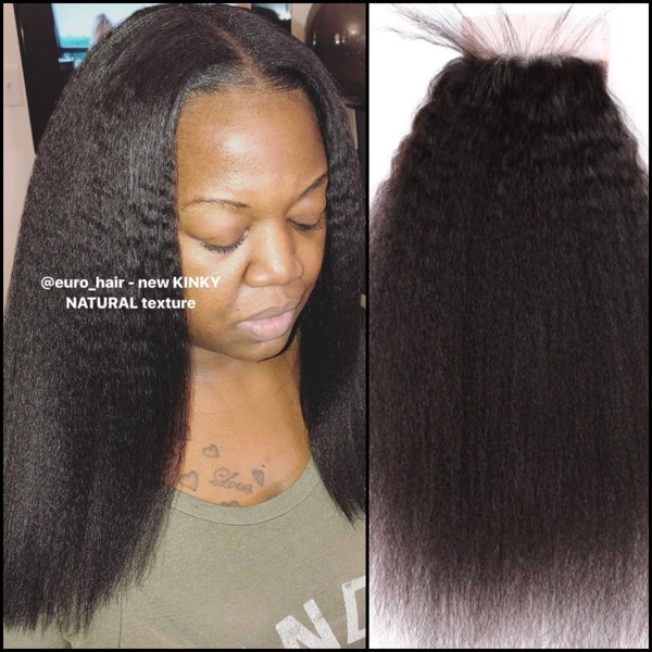 Image of KINKY NATURAL PREMIUM HAIR EXTENSIONS