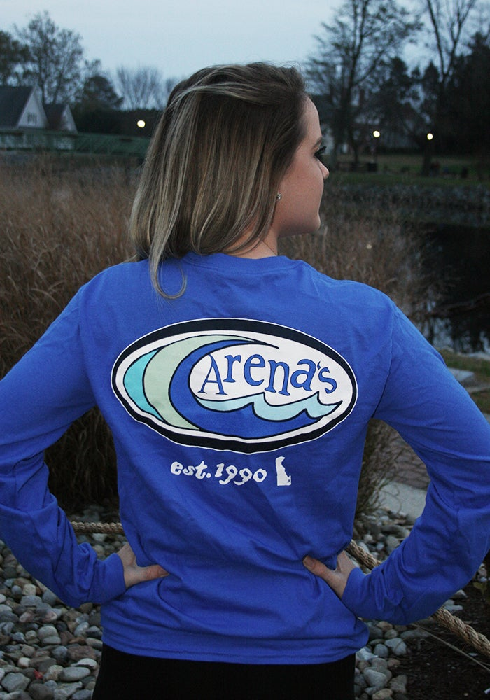 Image of Arena's Long Sleeve shirt Blue