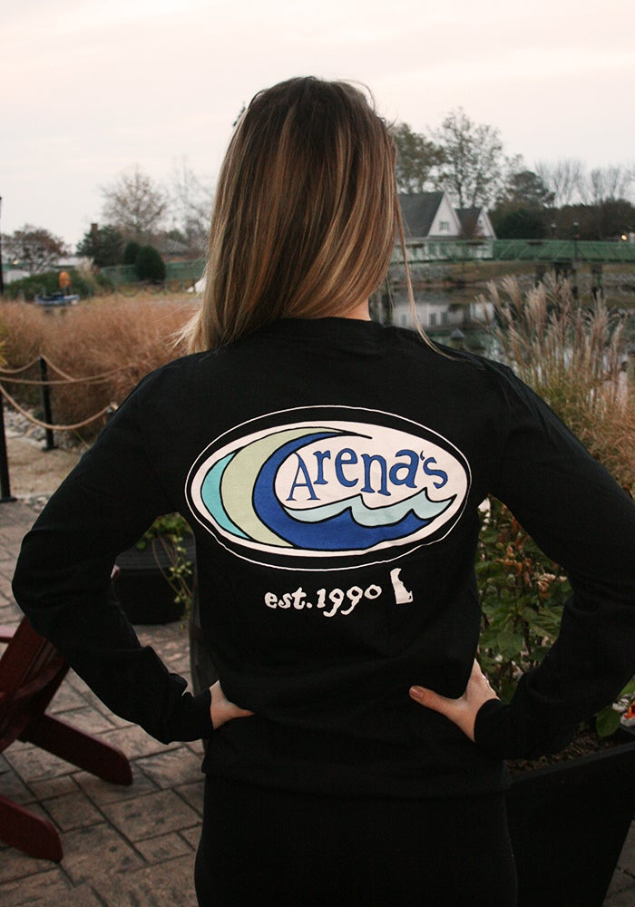 Image of Arena's Long Sleeve Shirt in Black