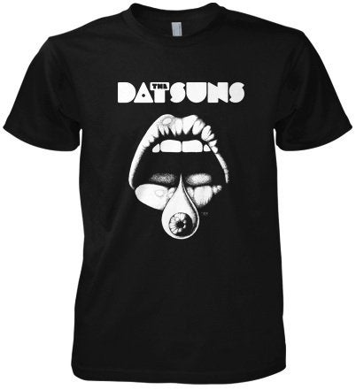 Image of Bad Mouth T Shirt (Navy Blue)