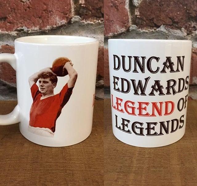Image of Duncan Edwards mug