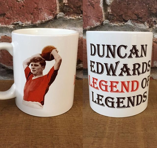 Image of Duncan Edwards mug