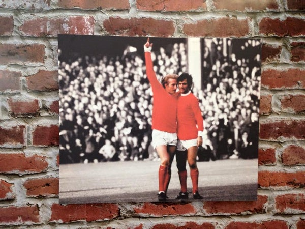 Image of George Best & Denis Law