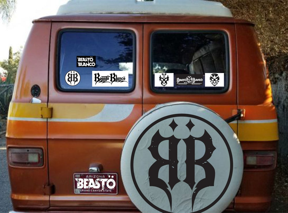 Image of OFFICIAL - BEASTO BLANCO - STICKER 6 PACK