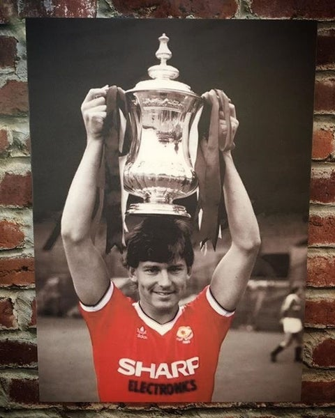 Image of Bryan robson FA cup