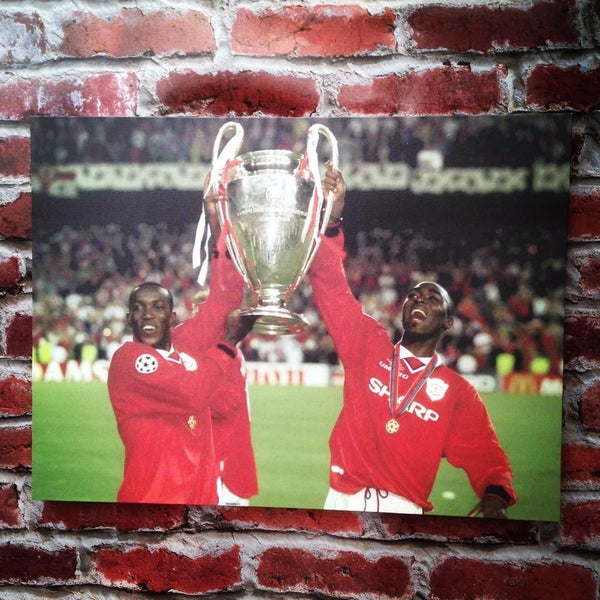 Image of Cole & Yorke 1999 final