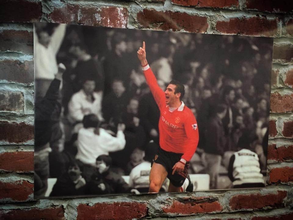 Image of Cantona celebration v city