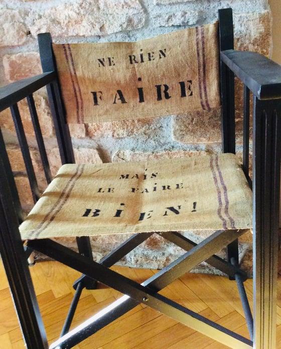 Image of La chaise « cinéma»