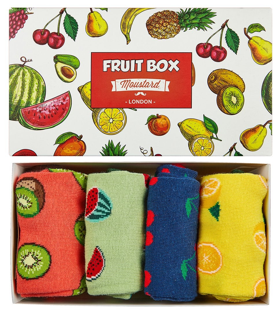Image of Fruits Socks Box