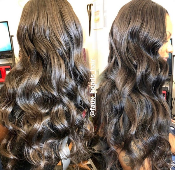 Image of BODY WAVE INDIAN HAIR EXTENSIONS
