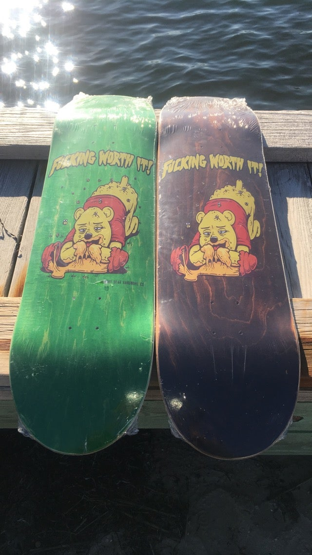 "Image of Hungry Bear ""Worth It"" Deck"
