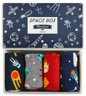 Image of Space Socks Box