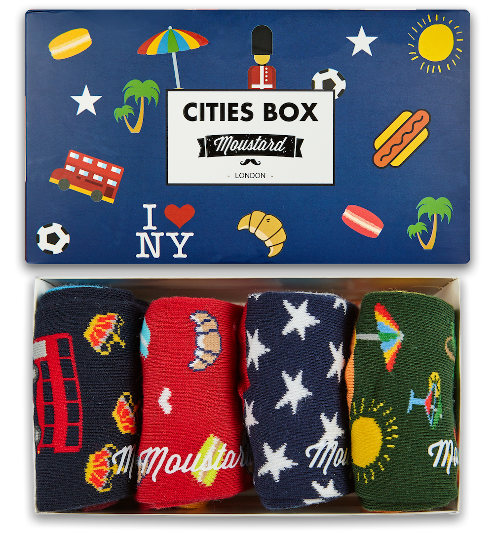 Image of City Socks Box