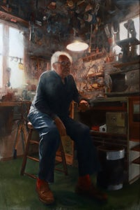 Image of Shawn Barber- 'Portrait of the Artist, Lyle Tuttle...', Limited Edition Print / NO OVERSEAS SHIPPING