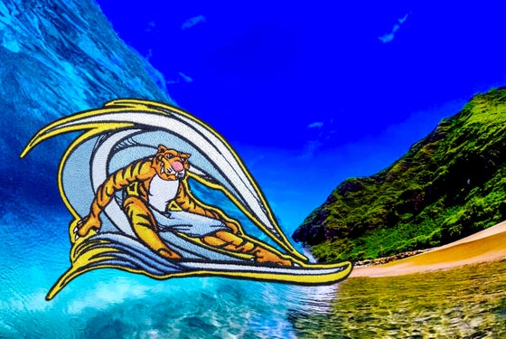 "Image of ""Moke"" the BIG WAVE surfer"