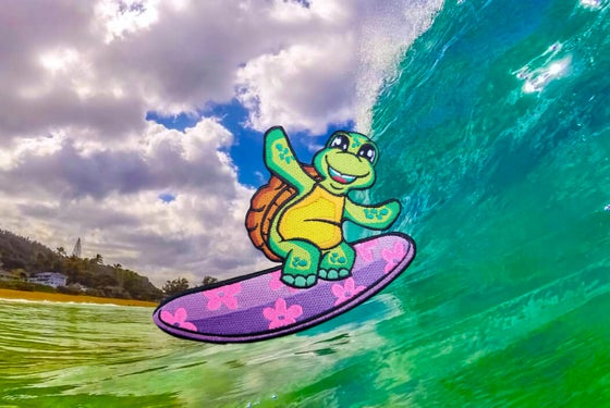 "Image of ""Honu"" surfer"