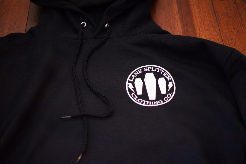 Image of Triple Coffin Pullover Hoodie