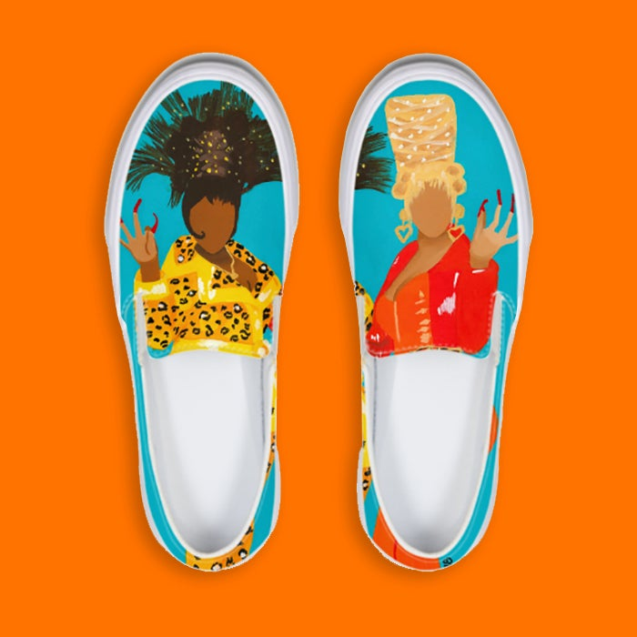 Image of Boo Yow Slip-On Sneakers