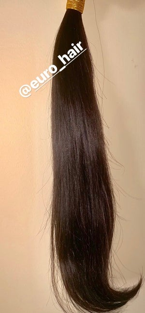 Image of SILKY STRAIGHT 100% REMY HUMAN HAIR