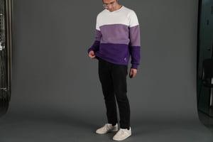 Image of Purple Gradient Sweater