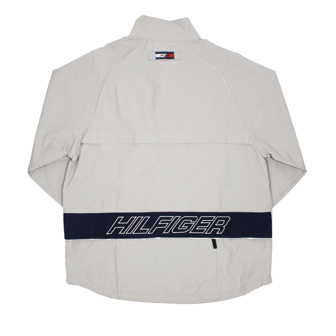 Image of Tommy Hilfiger Athletics Windbreaker Pullover Reflective Size M