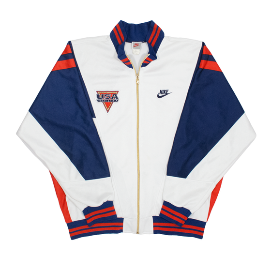 Image of Nike Vintage Track Jacket USA Stadium Track and Field Size L