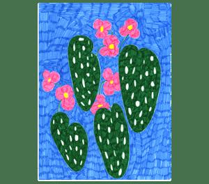 Image of Begonia Drawing